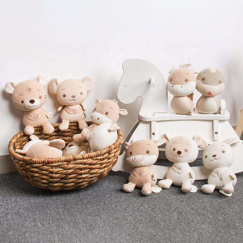 All Types Of New Born Musical Toys Eco Friendly Custom Plush Toys