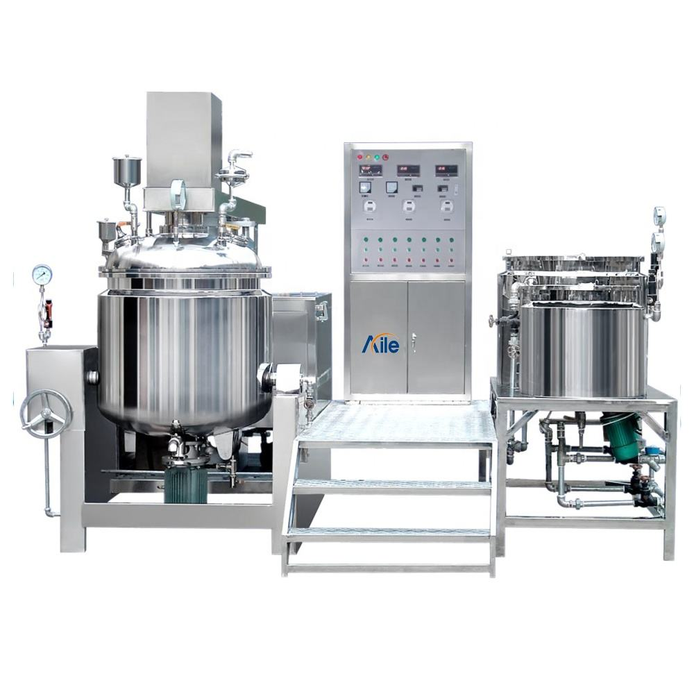 Standard Cosmetic, Cream, Lotion, Ointment Vacuum Homogenizing Emulsifier Or Mixer