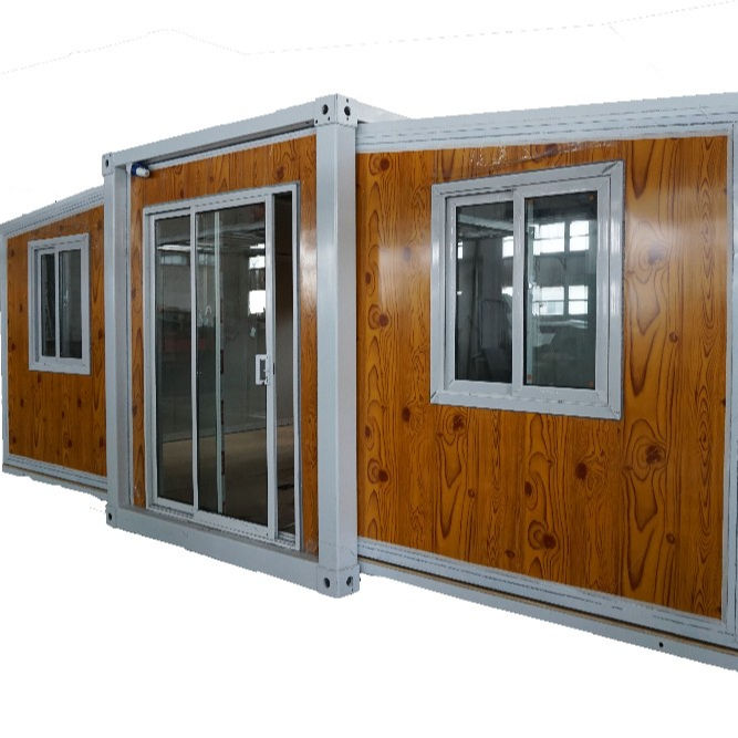 2 Bedroom Modular Prefab Houses Expandable Container House Tiny Villa
