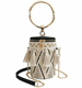 Women Summer Straw Bag Cylinder Handbag Tassels Crossbody Chain Bag