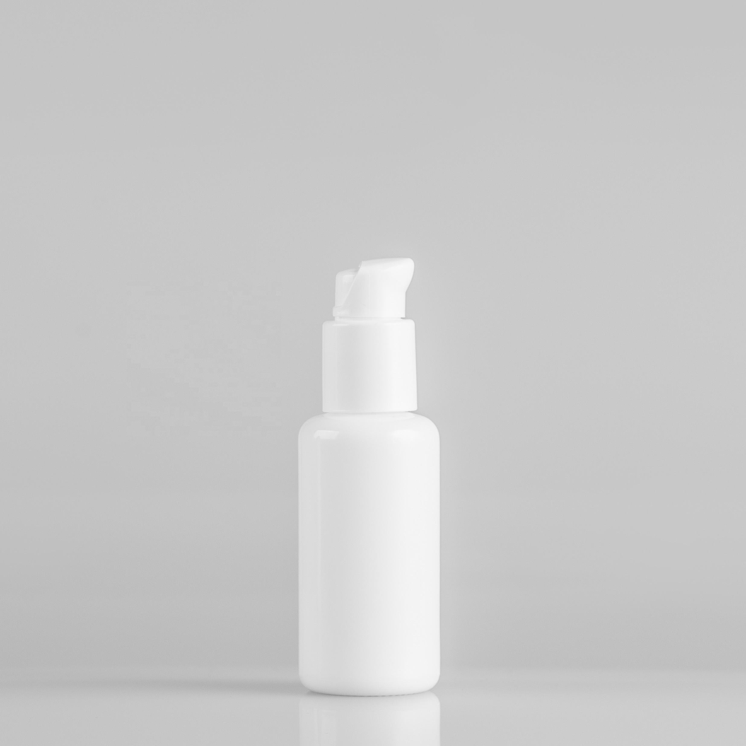 Recyclable packaging 40ml opal glass bottle for serum and toner packaging