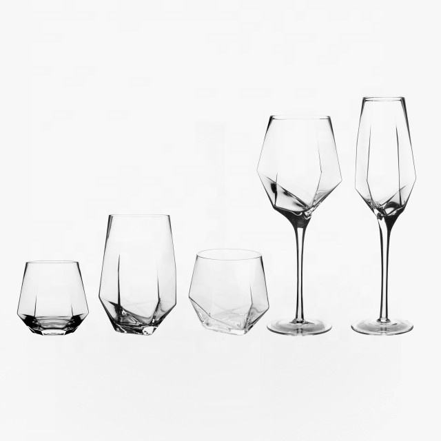 Personnalisable famille mariage cristal diamants whisky verre