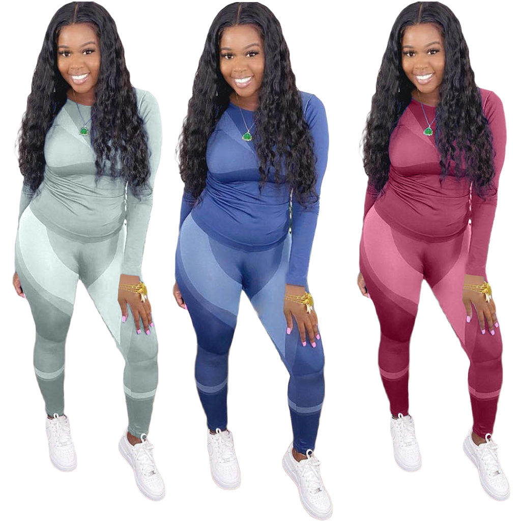 Low MOQ Custom Solid Color Sports Ladies Gym Yoga Suit Plus size Activewear Workout Clothing Women Active Wear Yoga Set