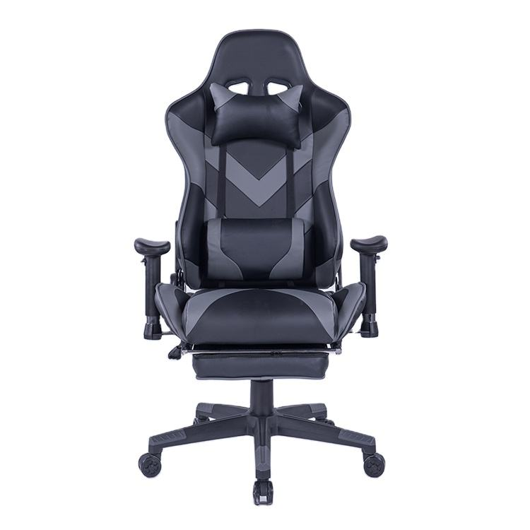 8203 Dark Gray Fabric Leather Gaming Chair Gamer Price Silla Gamer Office Chair