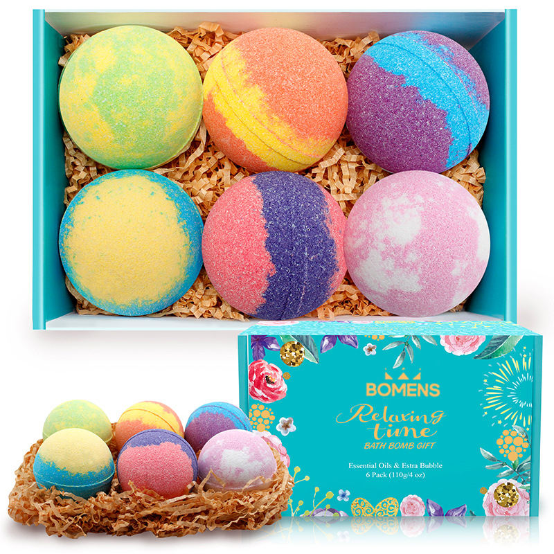 2020 New Style Wholesale Organic Colorful Rainbow Cloud Bath Bombs