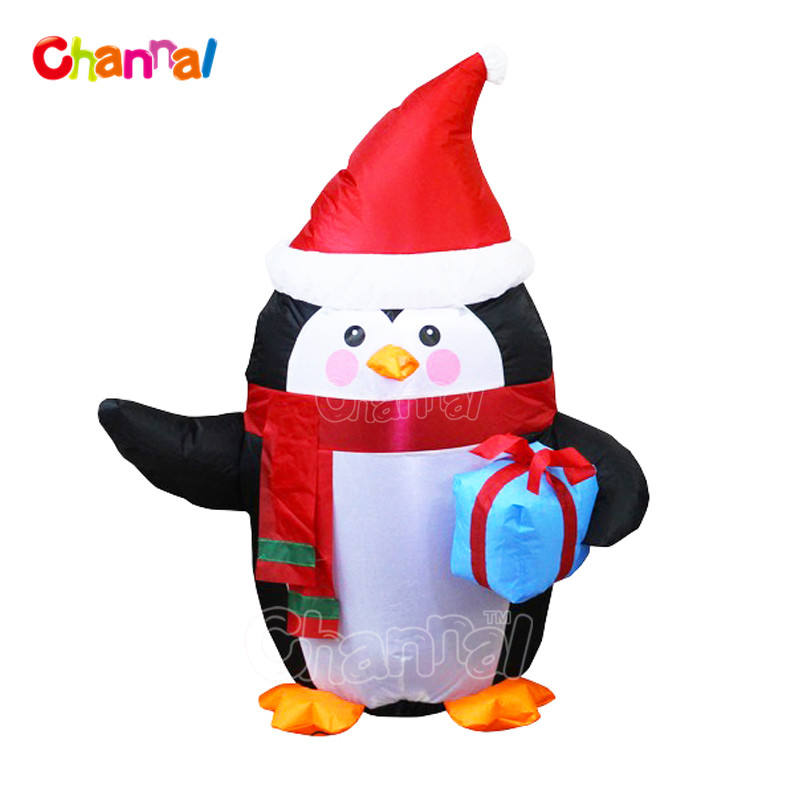 Winter Inflates Jumbo Inflatable Snowman for Winter Toys Fun Express 1 Piece Inflatable Characters
