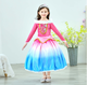 Children Sleeping Beauty Princess Dress Girls Frozen Romantic Fluffy Dresses Baby Long Sleeve Party Show Clothes BJ01
