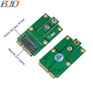 M.2 NGFF B Key Key-B to Mini PCI-E PCIe MPCIe Adapter Card for 3G/4G/ LTE/GSM/GPS Wireless Module