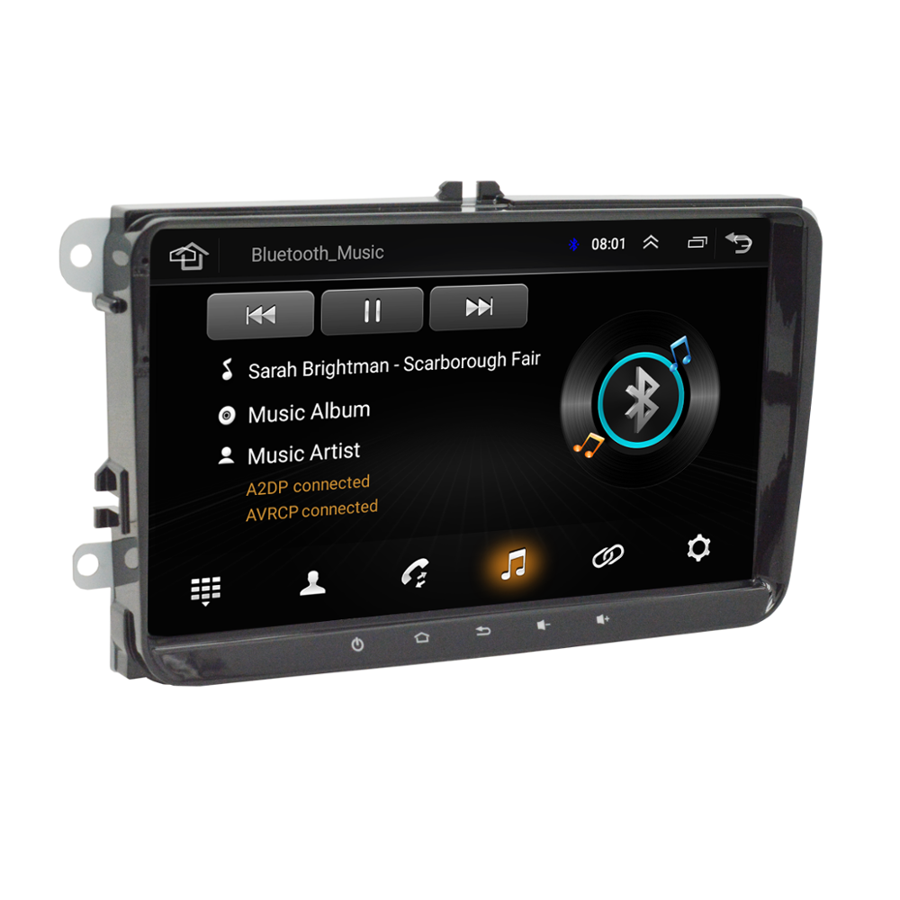 9 zoll Universal Stereo für <span class=keywords><strong>VW</strong></span> Volkswagen Android GPS <span class=keywords><strong>Auto</strong></span> <span class=keywords><strong>radio</strong></span> Multimedia Video Player Stereo GPS video
