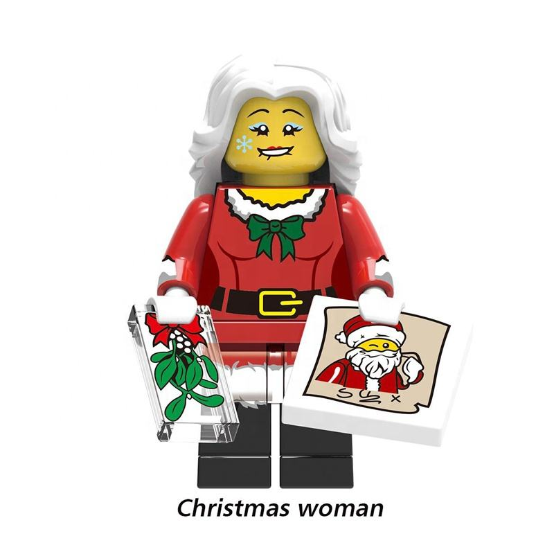 Amazon eBay Christmas toys minifigs Blocks model Captain building bricks Marveles action figures toy Collect gifts