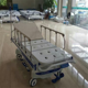 Hot selling ABS patient transfer trolley manual patient transfer stretcher with good price