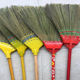 Hot sale colorful PVC coated wooden stick vietnam grass broom