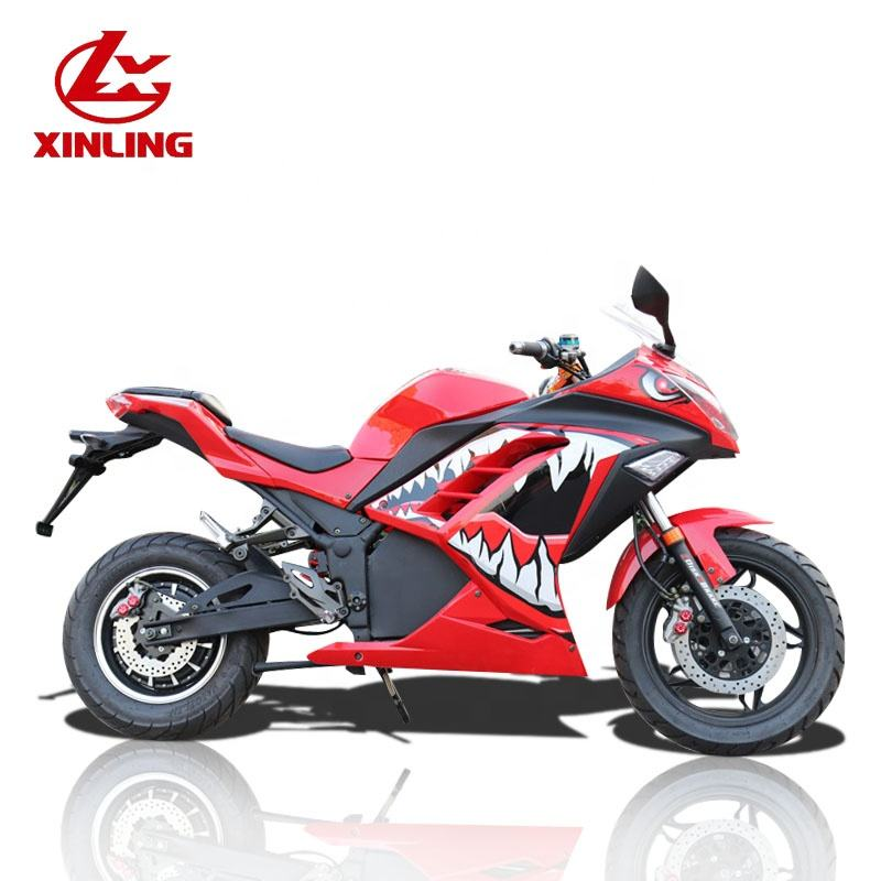 New designed 50cc adult electric motorcycle 3000w hot sale on line