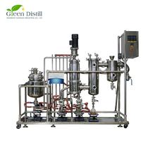 Shipping in 7 Days YMD-2S Stainless Steel Thin Film Evaporator For CBD Oil Extraction
