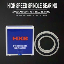 HXB High speed precision spindle motor bearing7002 7004 7005 7006 7007 7008 7009 7010 7012 7014 Angular contact ball bearing