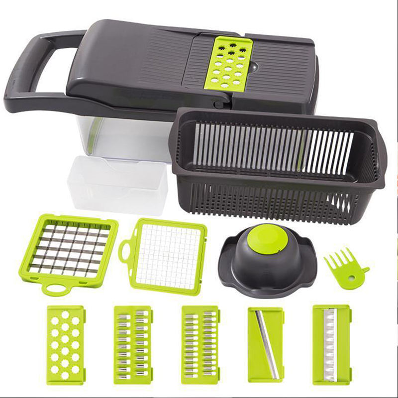 Cost-effective Hand Press Onions Chopper Manual Slicer Multi-functon Vegetable cutter