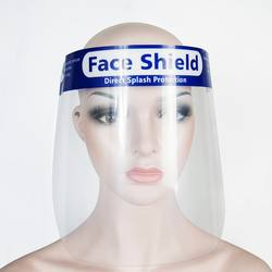 Disposable Face Shield Safety Product Clear Anti-Fog Splash-
