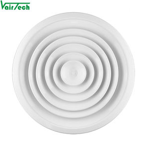 Hvac tools aluminum adjustable ceiling round air diffuser