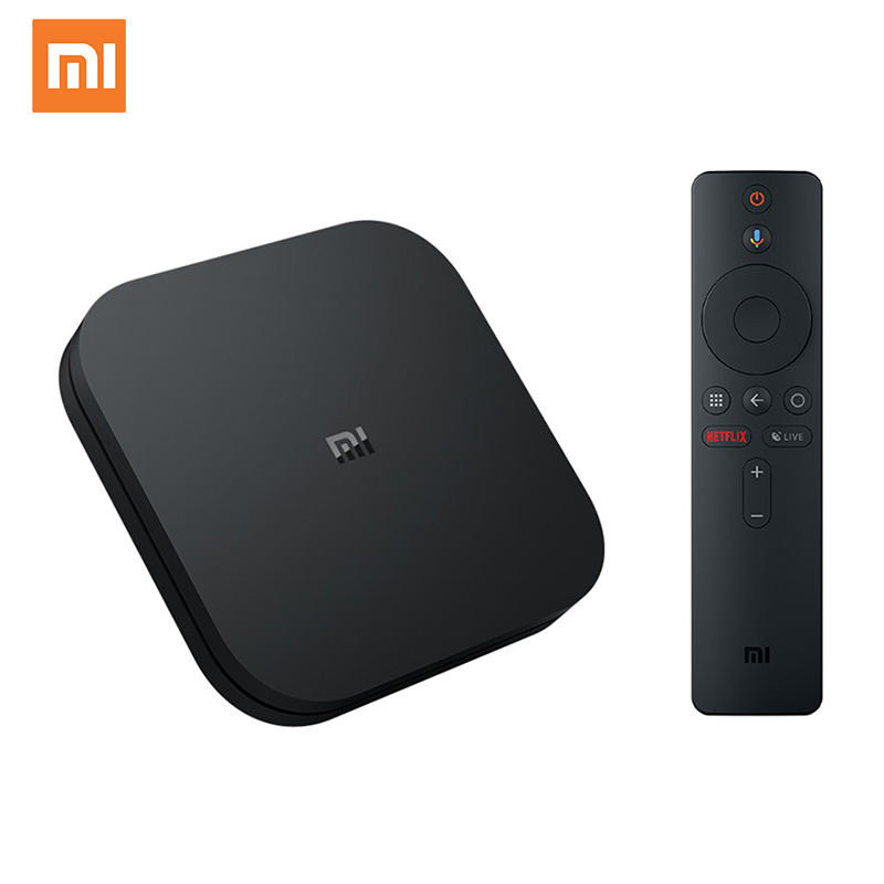 Global Xiaomi Mi TV Box S Android Tv Box S 8.1 Ultra HD 2G 8G IPTV Set top Xiaomi Mi Box S 4K