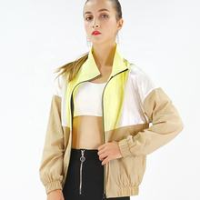 OEM Service Custom Outdoor Zipper Up Winter Windproof Sports Jackets For Women