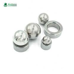 High precision tungsten carbide balls and valve seat cemented tungsten carbide bearing balls