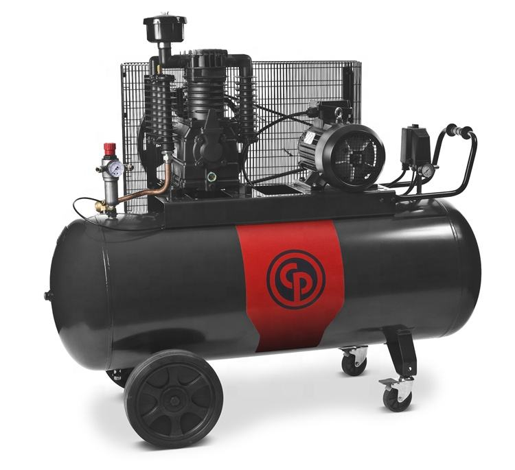 Chicago Pneumatic Low noise air-compressor price rotary screw air compressors with tank and dryer