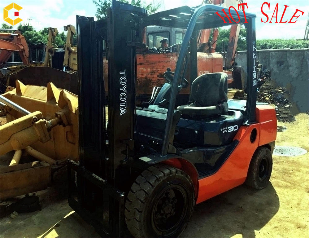Hot sale low working hours Used TOYOTA FD30 Forklift