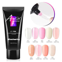 Misscheering 15ml Gel Nails Finger Extensions  Acrylic gel Nail Builder without Nail Form