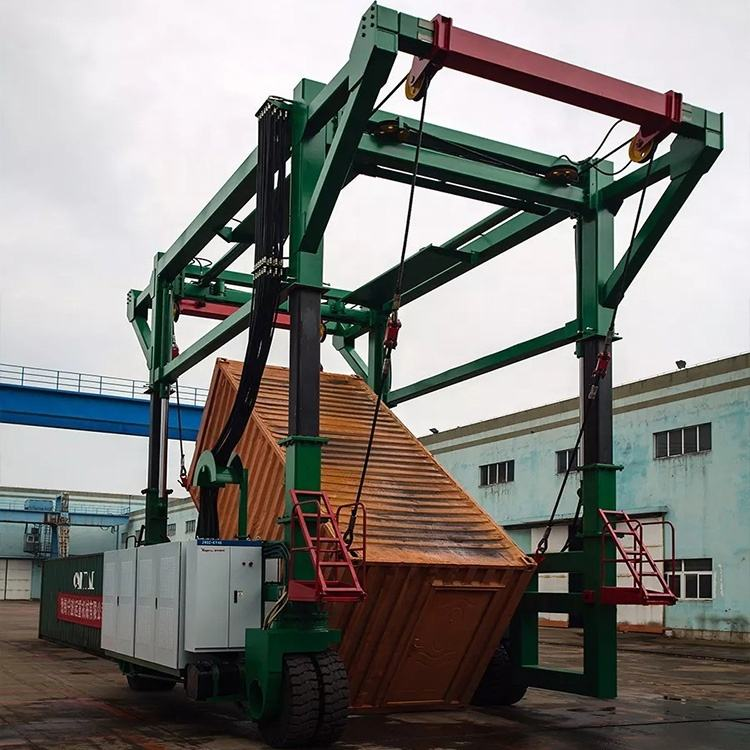 Metal Industry 30Ton 40 Ton Speed Load And Unload Gantry Container Crane For Sale