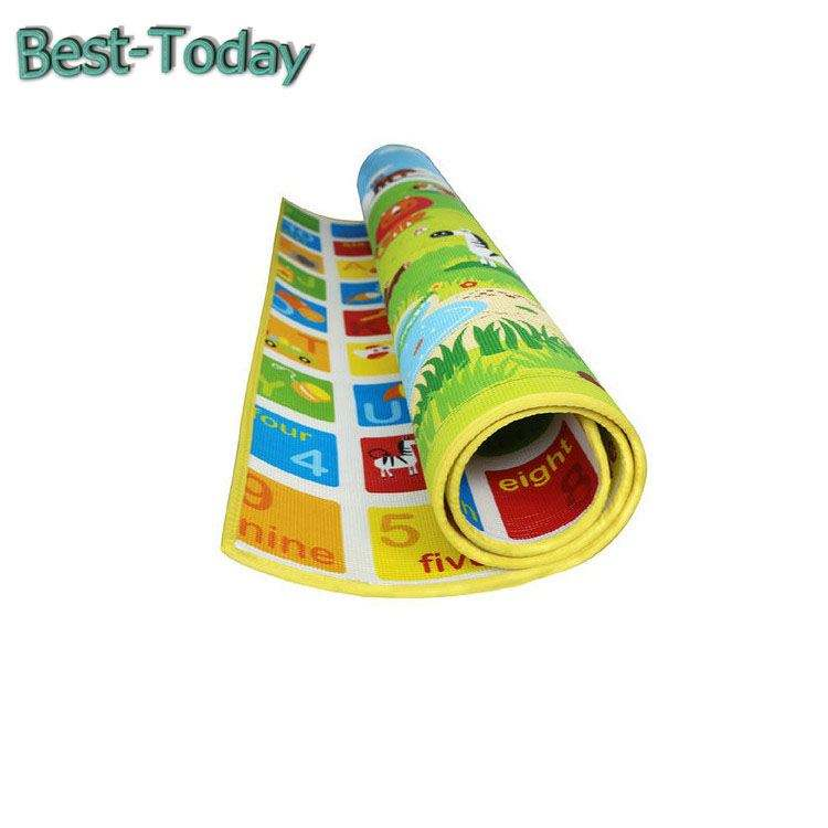 Waterproof XPE Children Play Mats Baby Crawling Puzzle foldable pads Non-toxic Baby Play Mat