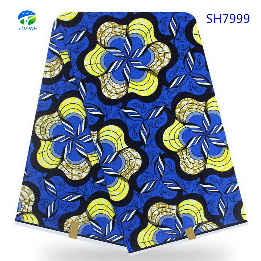 Wholesale african wax prints fabric high quality wax 100% cotton wax holland