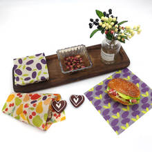 2020 New Trend Sustainable Made From Raw Beeswax And Organic Cotton Cloth Beeswax Food Wraps