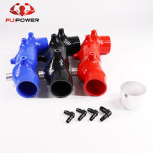"Silicone Turbo Inlet Hose For Perrin 2.4""  04-17 STi /02-07 WRX Forester XT"