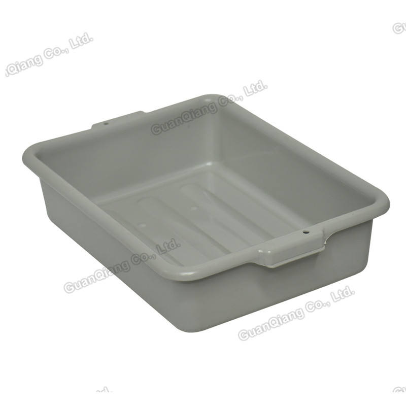 Kitchen dish collection tub food transport bus box meat totes plastic tote bins