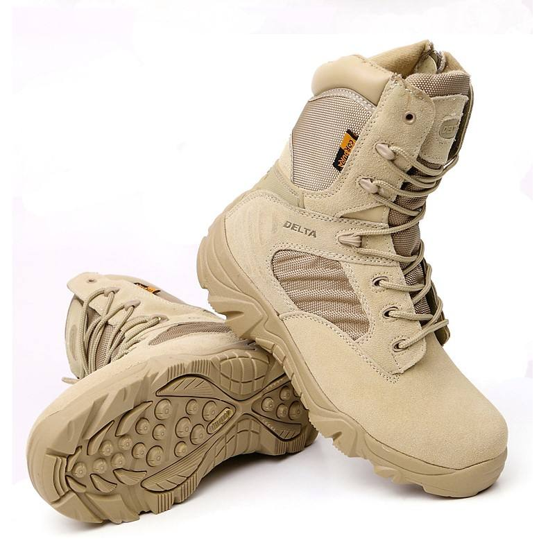 2020 hOT Wholesale WAR Combat Army Desert Boots Tactical Military Outdoor Army Boots For Men