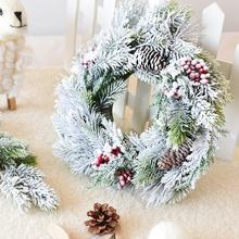 2019 high quality Wholesale Door Decoration Customized Artificial Christmas Wreath For Indoor Outerdoor Christmas Decoration
