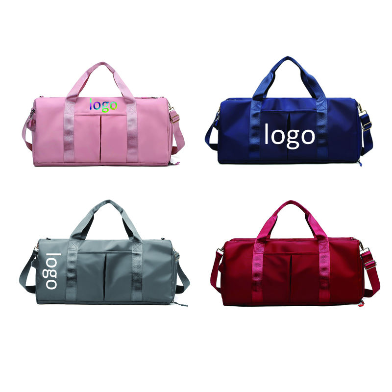 2021 new arrivals Separation Nylon Waterproof customized sports bag custom gym bag