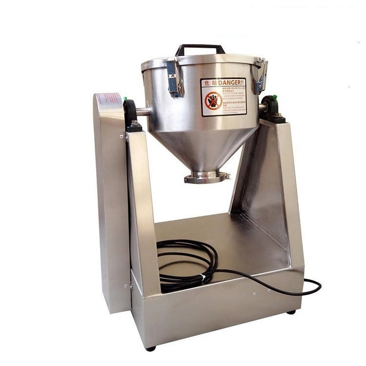Hot sale Mini lab mixer ,1kg, 2kg, 5kg,10kg,15kg,20 kg powder mixer for small mixing test with factory price US$3600
