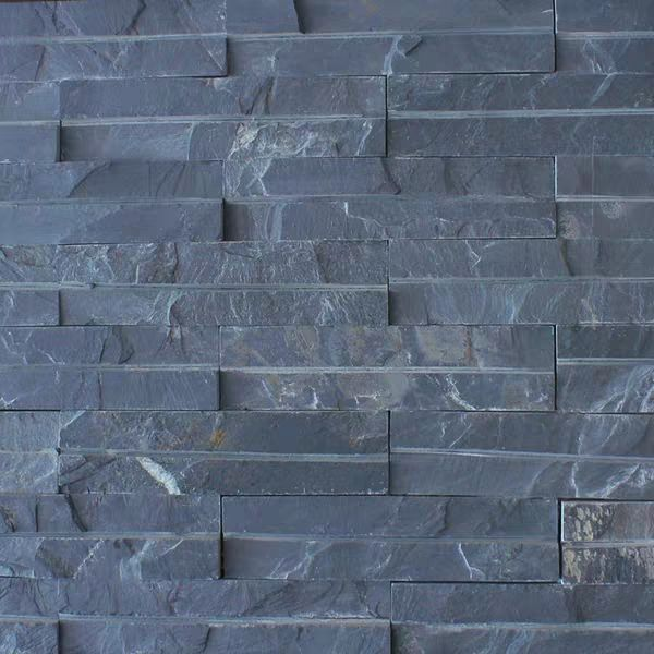 orchre black natural cut regular stone slate wall cladding factory wholesale customized