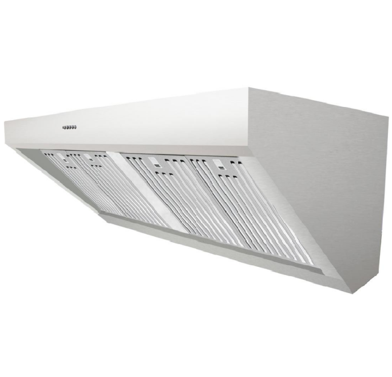Industry cooker hood ss body mechanical control easy operation
