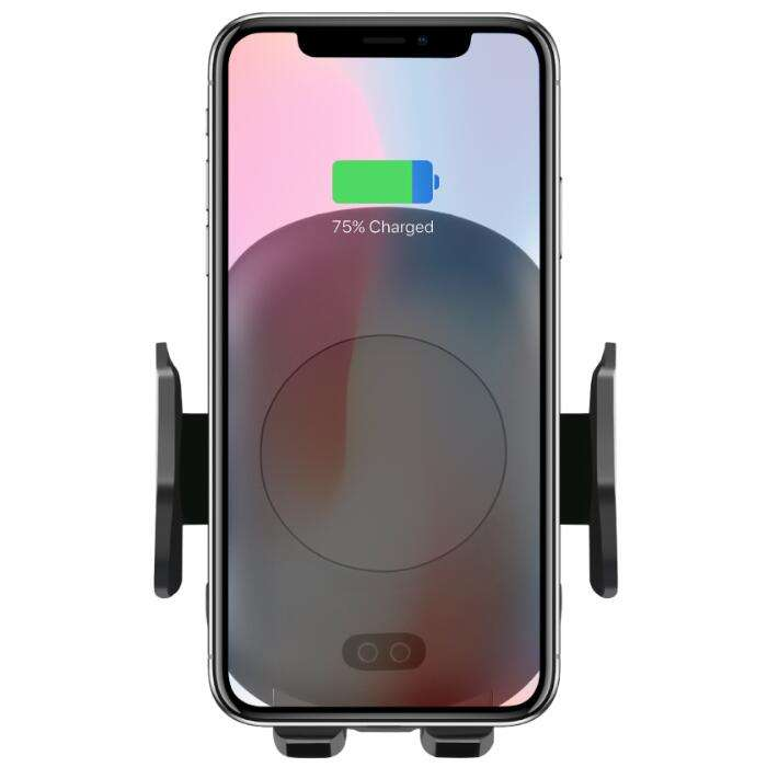 Qi Wireless Car Charger for iPhone X XS XR for Samsung S9 10W Car Air Vent Mount Mobile Phone Holder C10 Quick Wireless Charger