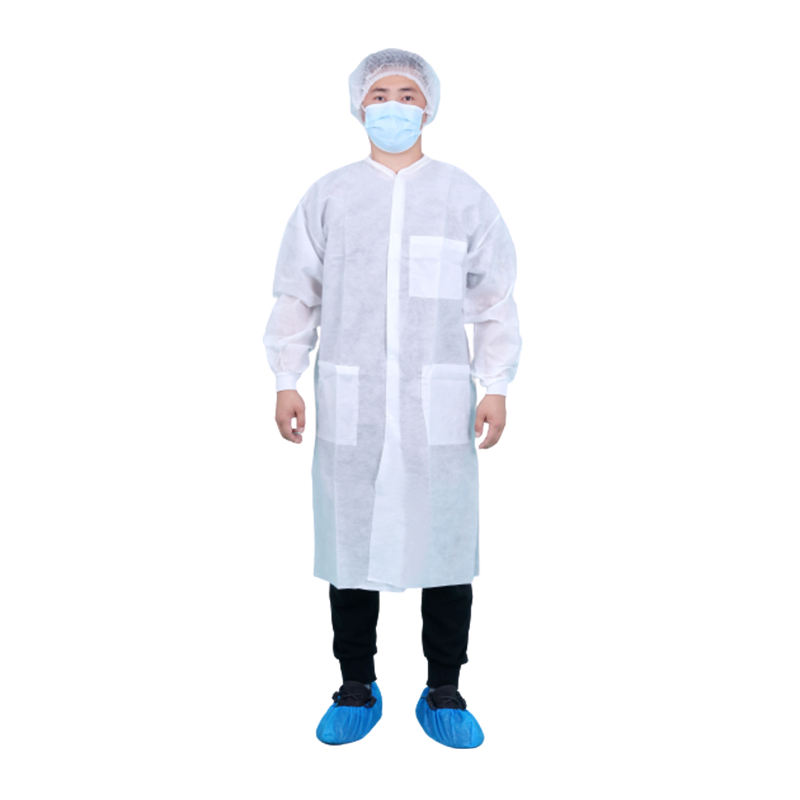 High quality disposable safety workwear clothing non woven fabric workwear