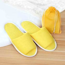Toiletries Guest plush slippers Portable folding slippers Ho