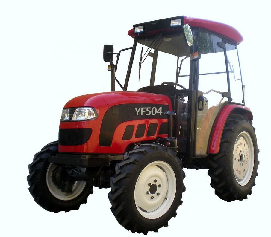 China best supplier cheap farm tractor YF504 for sale