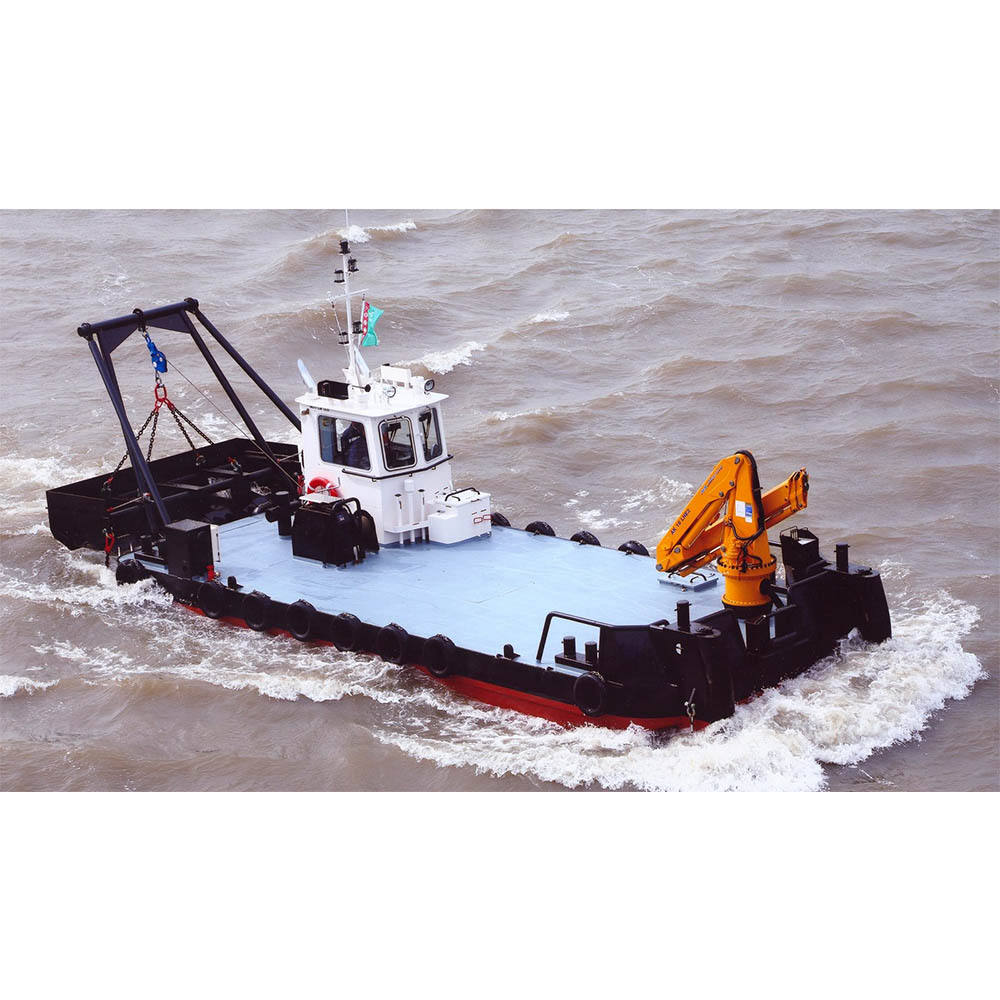 Mining Machinery Equipment Cutter Suction Dredger Tug Work Boat Work In Shallow