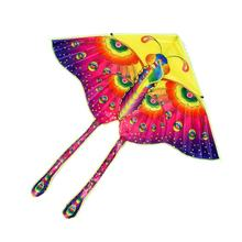 Promotional kids flying nylon butterfly kite