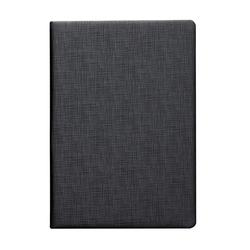 Inexpensive PU leather notepad  Low MOQ  Classic A5  leather notebook logo custom
