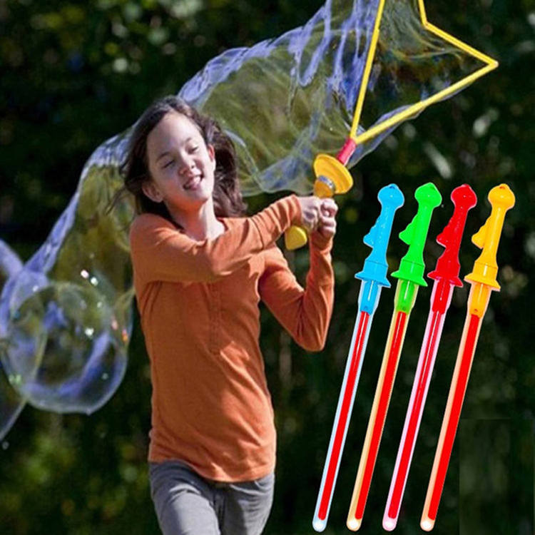 Hot toys 2020 Wholesale 47.5cm Colorful Summer funny Kid Toy Bubble Water and Bubble Wand Gun toy