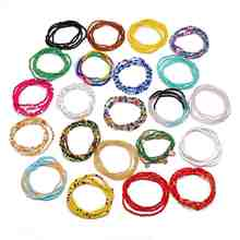 Wholesale Custom African Ghana Bohemian Multi Layer Chain Set Colored Seed Bead Waist Beads