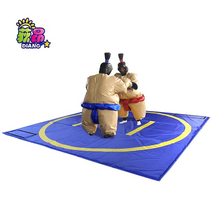 High Quality Foam Padded Sumo Wrestling Suits full set of suits and mat for sale